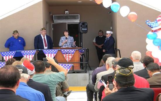 of vfw post 2830 on the reopening of its post in bell gardens after